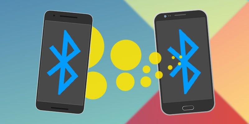 So schicken Sie App per Bluetooth